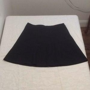 Size 16 Merona Black Skirt